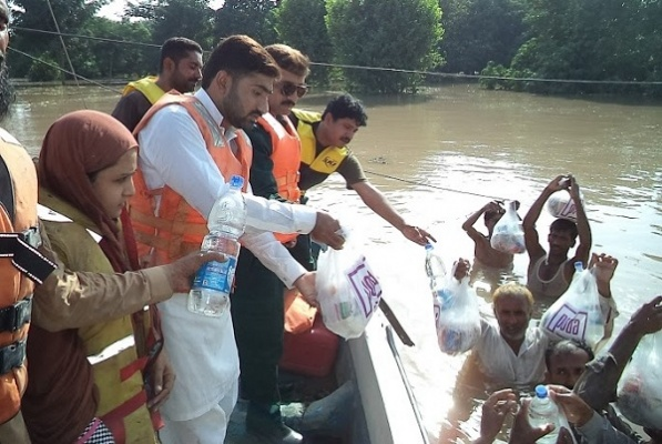 Flood Relief Camp